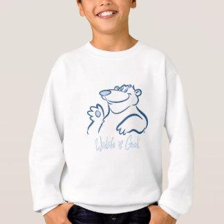 Polar Bear's Wild Smile Sweatshirt
