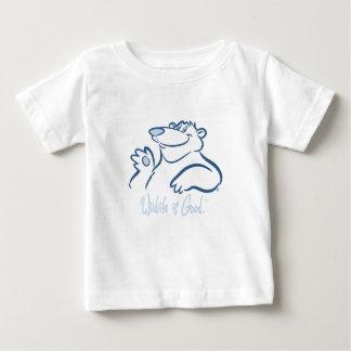 Polar Bear's Wild Smile Tshirt