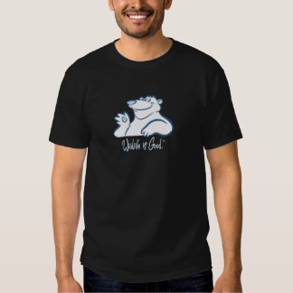 Polar Bear's Wild Smile Tshirts