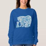 Polar Bears Women's Sweatshirt