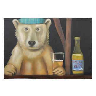 Polar Beer Cloth Placemat