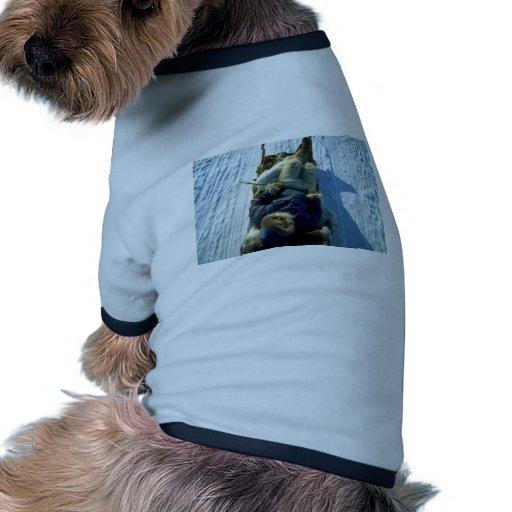 Polar Eskimo asleep on sled Dog Clothing