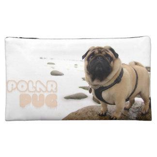 Polar Euro Pug Medium Cosmetic Bag