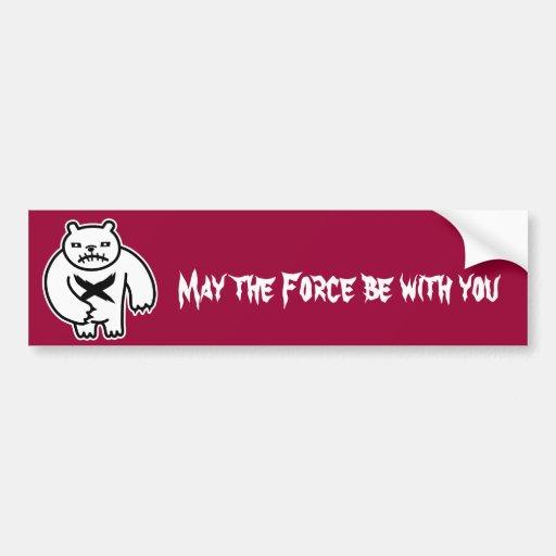 Polar Force Bumper Sticker