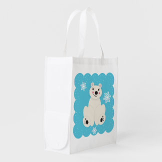 Polar Friend Grocery Bags