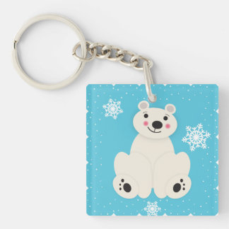 Polar Friend Keychain