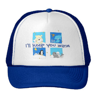 "Polar Friends - ""I'll keep you warm"" Trucker Hat"