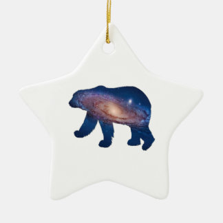 POLAR GALACTIC CERAMIC ORNAMENT