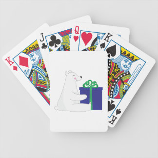 Polar Gift Bicycle Playing Cards