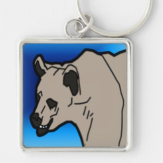 Polar Head Keychain