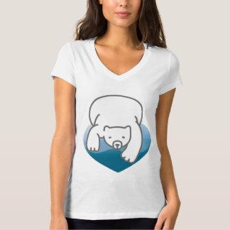 Polar Heart Save The Earth Shirt