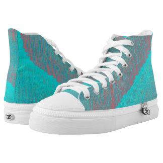 Polar Ice Cap Hi Top Printed Shoes