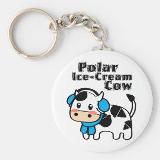 Polar Ice-Cream Cow Keychain