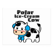 Polar Ice-Cream Cow Postcard