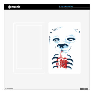 Polar Icy Kindle fire cover Kindle Fire Skin