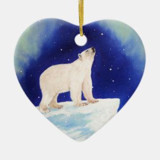 Polar Lights Ceramic Ornament