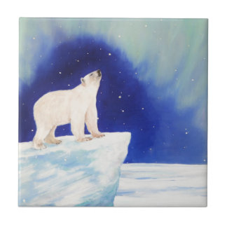 Polar Lights Ceramic Tile
