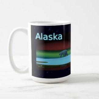Polar Lights Polar Bear Coffee Mug