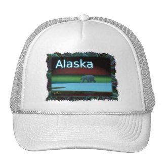 Polar Lights Polar Bear Trucker Hat
