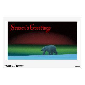 Polar Lights Polar Bear Wall Sticker