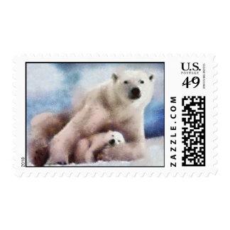 polar mom stamps