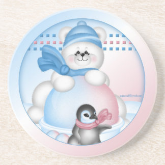 Polar Pals Coaster