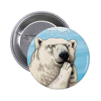 Polar prayer 2 inch round button