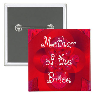 polar red, Mother of the Bride Pin