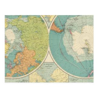 Polar Regions Postcard