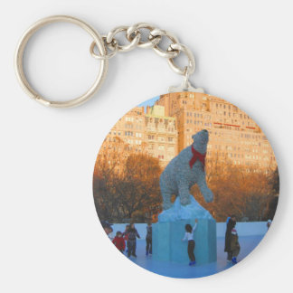 Polar Rink Key Chain