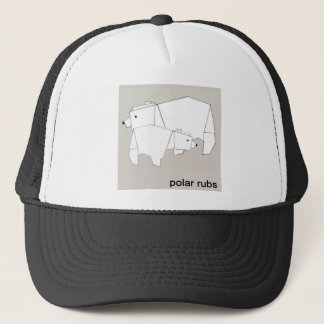 polar rubs trucker hat