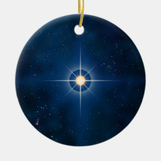 Polar Star Ceramic Ornament