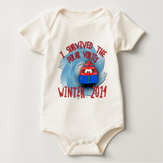 POLAR VORTEX 2014 Winter Baby Bodysuit