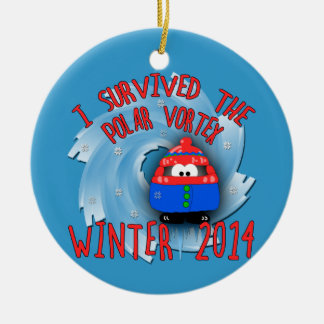 POLAR VORTEX 2014 Winter Christmas Ornament