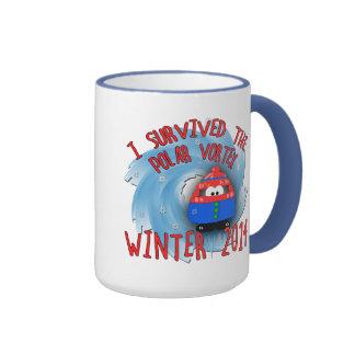 POLAR VORTEX 2014 Winter Ringer Mug