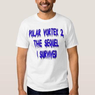 Polar Vortex 2 the Sequel - I Survived Light Shirt