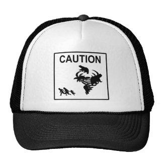 Polar Vortex Caution Trucker Hat