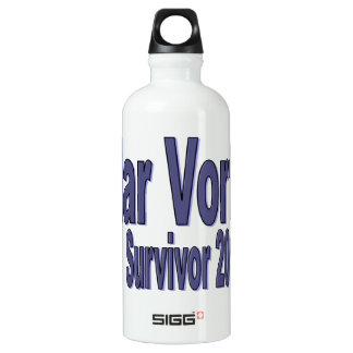 Polar Vortex Survivor Aluminum Water Bottle