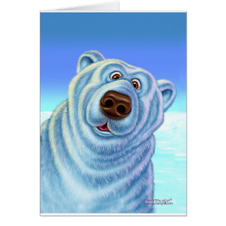 polarbear_card greeting cards