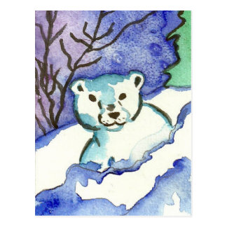 Polarbear Cub Postcard