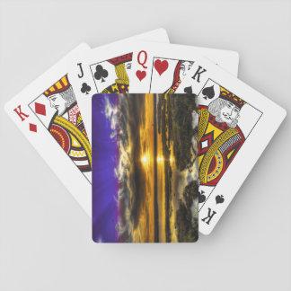 Polarian Sunset Poker Cards