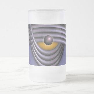 polaridad taza cristal mate