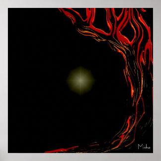 Polaris Rising ~ a Trees Please art print Posters