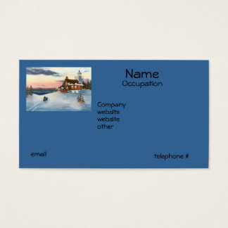 Polaris Sunset Business Cards