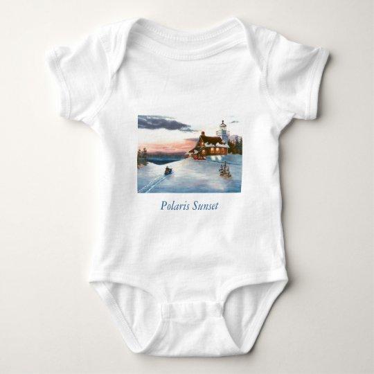 Polaris Sunset Infant Baby Bodysuit