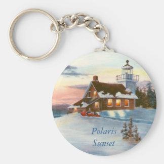 Polaris Sunset Keychain