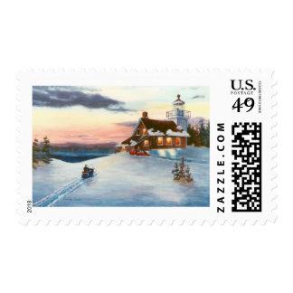 Polaris Sunset Postage Stamps
