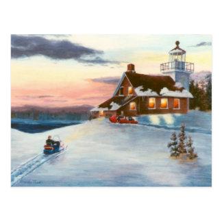 Polaris Sunset Postcard