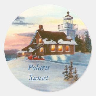 Polaris Sunset Sticker