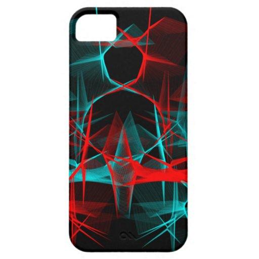 Polarized Modern Art iPhone 5 Cases